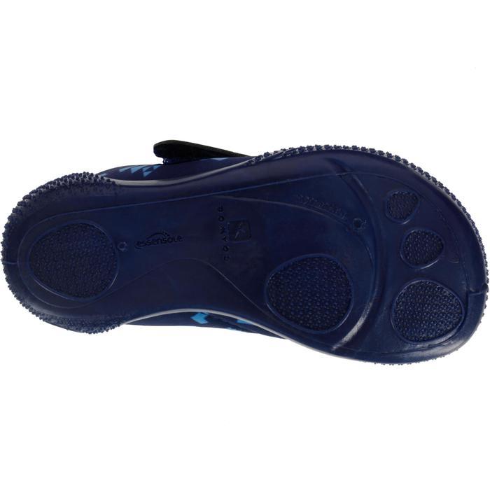 超輕量嬰幼兒學步鞋 - 藍色印花