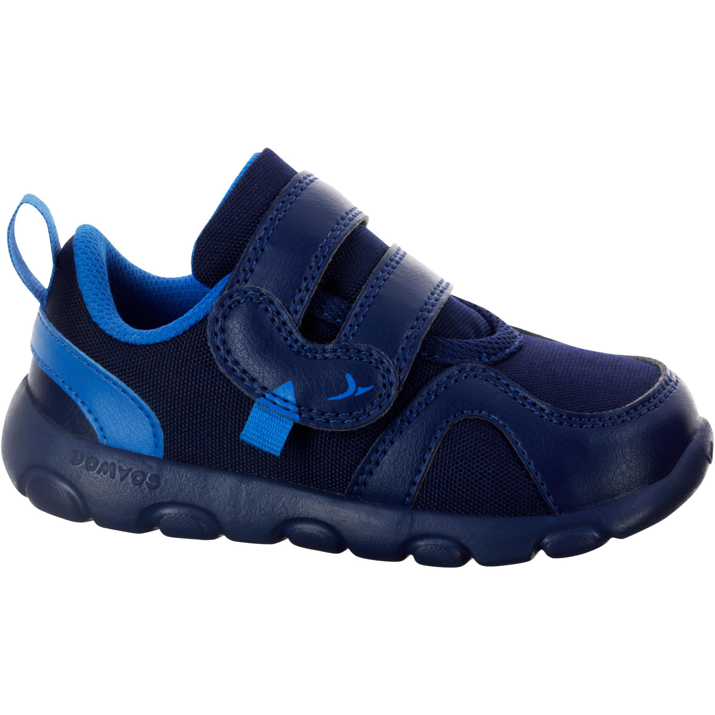 Schoentjes Feasy voor kleutergym marineblauw