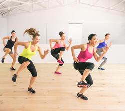 Fitnesstop My Top voor dames, voor cardiotraining - 991943