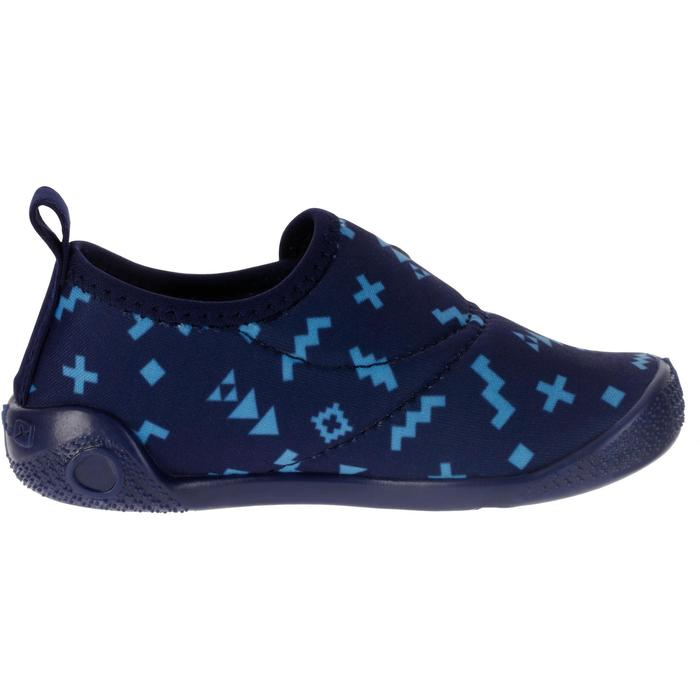 Ultralight Baby Gym Bootees - Blue Print