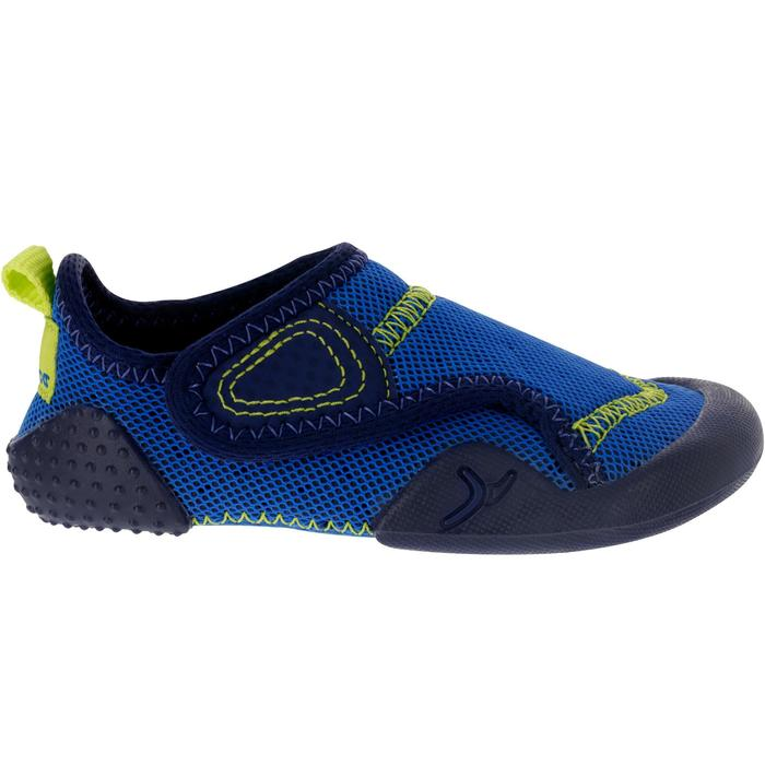 Baby Light Gym Bootees 500 - Navy Blue