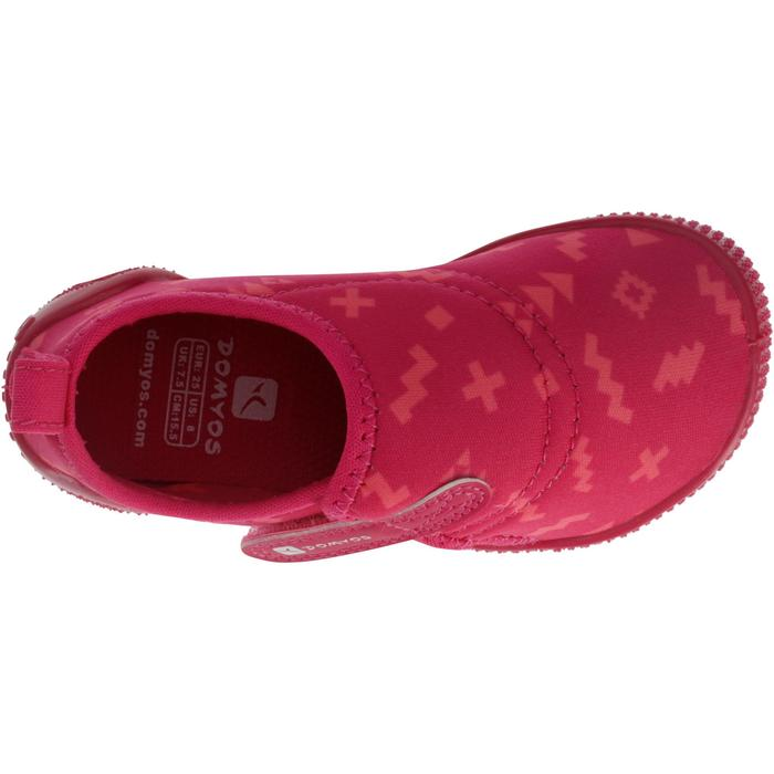 8c2b30f419a8 Baby shoes 100 Ultralight Gym Bootees - Pink - Decathlon