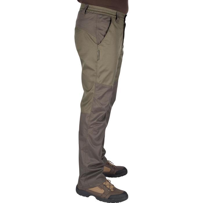 Pantalon imperméable chasse RENFORT 100 VERT - 992265