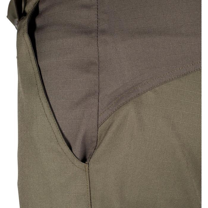 Pantalon imperméable chasse RENFORT 100 VERT - 992267