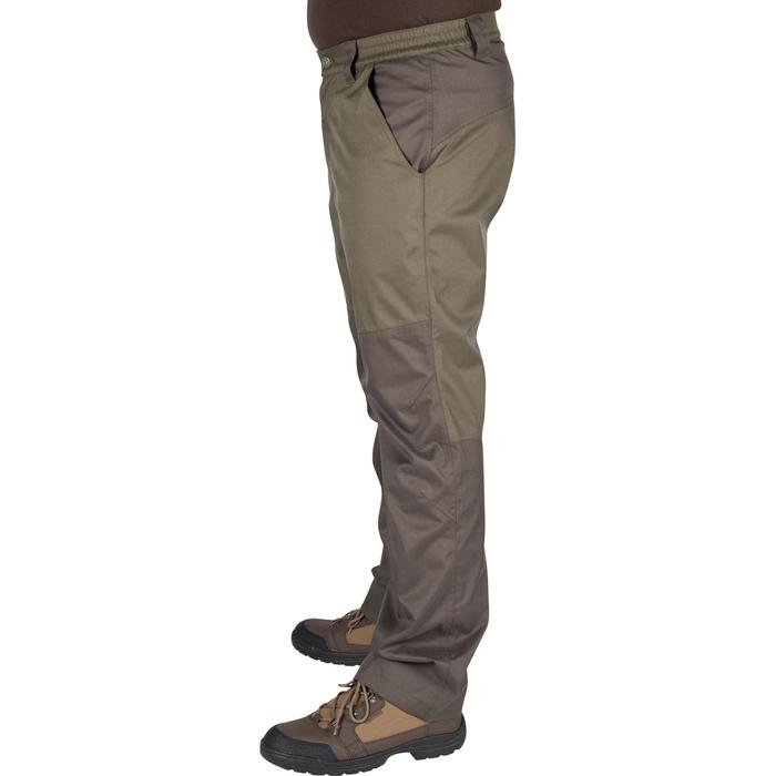 Pantalon imperméable chasse RENFORT 100 VERT - 992268