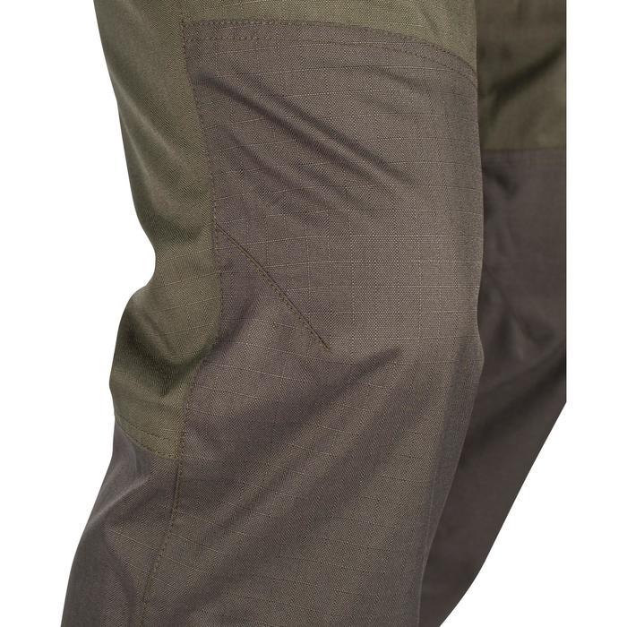 Pantalon Caza Solognac Sg 500 Impermeable Verde
