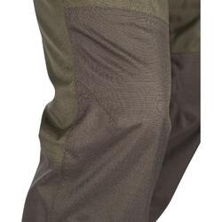 Waterdichte broek voor de jacht 500 groen
