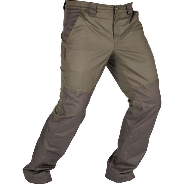 Pantalon imperméable chasse RENFORT 100 VERT - 992271