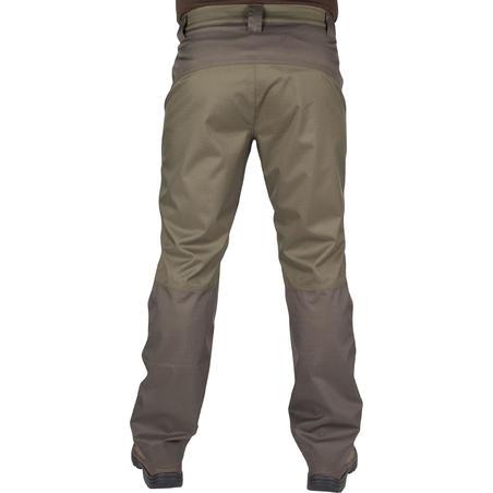 HUNTING PANTS 500 WATERPROOF - GREEN