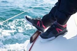 Dekschoenen Arin 500 voor dames grijs/roze - 992383