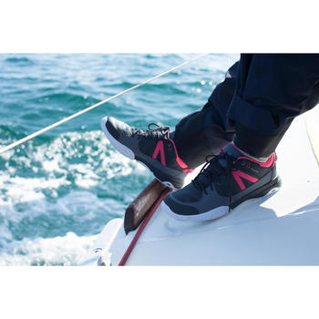 Chaussures de pont femme ARIN500 gris/rose - 992383
