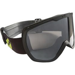C AND AD SKIING AND SNOWBOARDING GOGGLES G500 GOOD WEATHER ASIA -BLACK