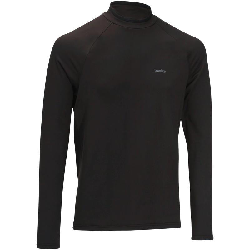 Men's Base Layer Ski Top FreshWarm - Black