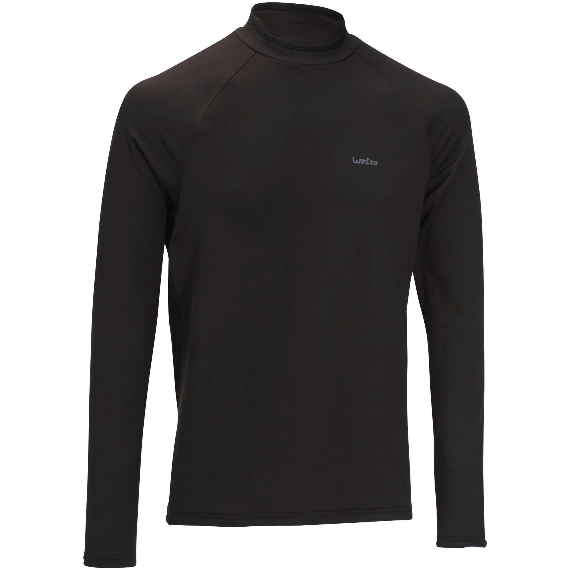 Skiunterhemd Freshwarm Herren schwarz | Sportbekleidung > Funktionswäsche > Thermounterwäsche | Wed'ze