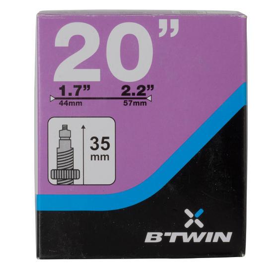 """Binnenband 20"""" doorsnede 1,7 - 2,2 Presta-ventiel - 992679"""