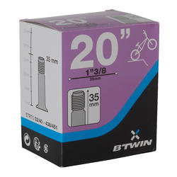 """Binnenband BMX 20"""" x 1.3/8 Schrader-ventiel / ETRTO 32-40/438-451 - 992684"""