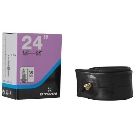 24-Inch 1.70 to 2.20 Presta Valve Inner Tube