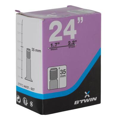 24x1.7-2.2 Bike Inner Tube - Schrader
