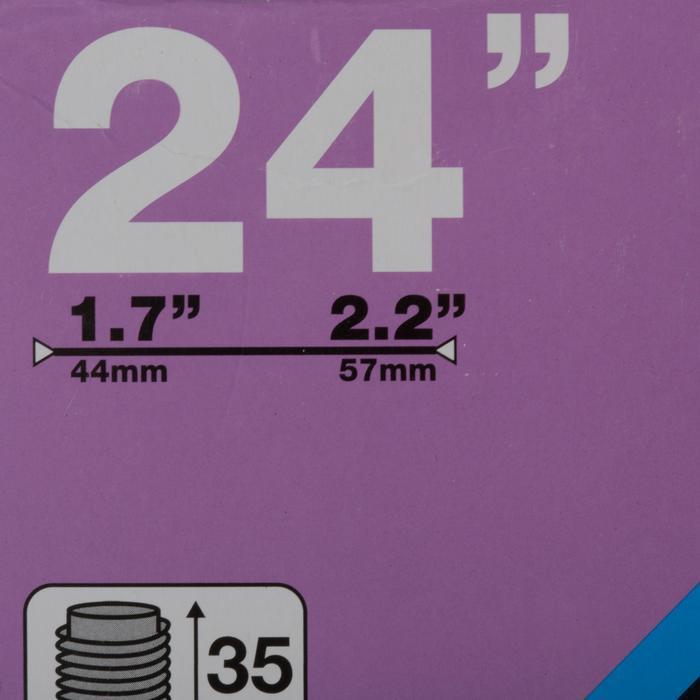 Binnenband 24 x 1,7 tot 2,2 Schrader-ventiel