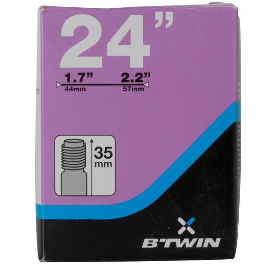 """Binnenband 24"""" doorsnede 1.7 tot 2.2 Schrader-ventiel - 992694"""
