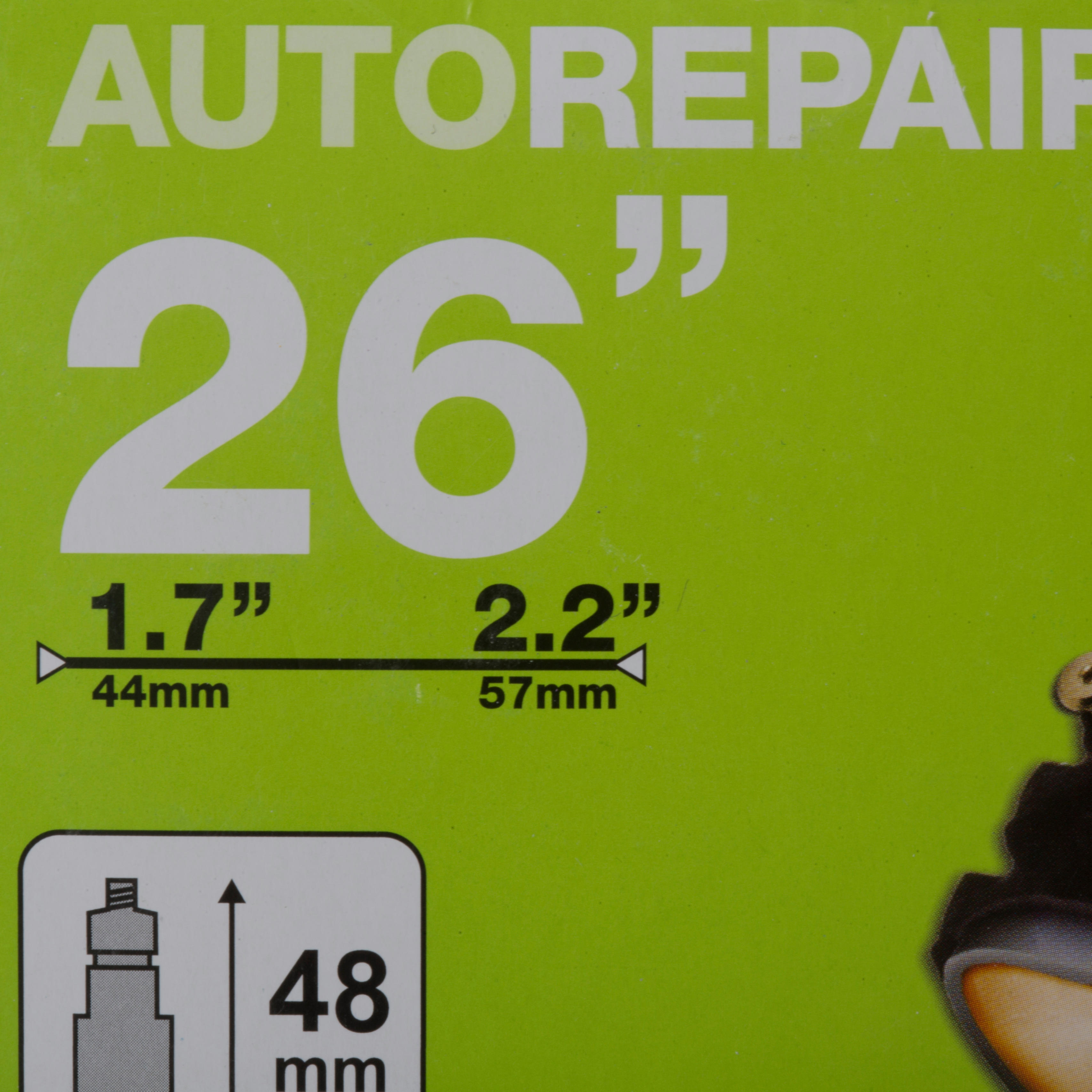 ATC 26x1.7 / 2.2 48 mm Presta Valve Self-Repairing Inner Tube