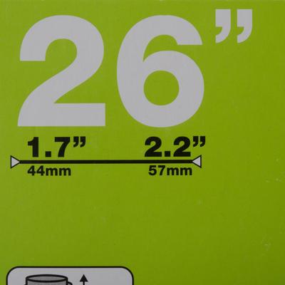 26x1.7/2.2 35 פנימית - Schrader