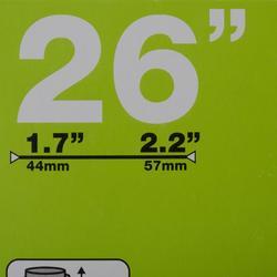 CÁMARA DE AIRE 26 x 1,7/2,2 VÁLVULA SCHRADER 48 MM