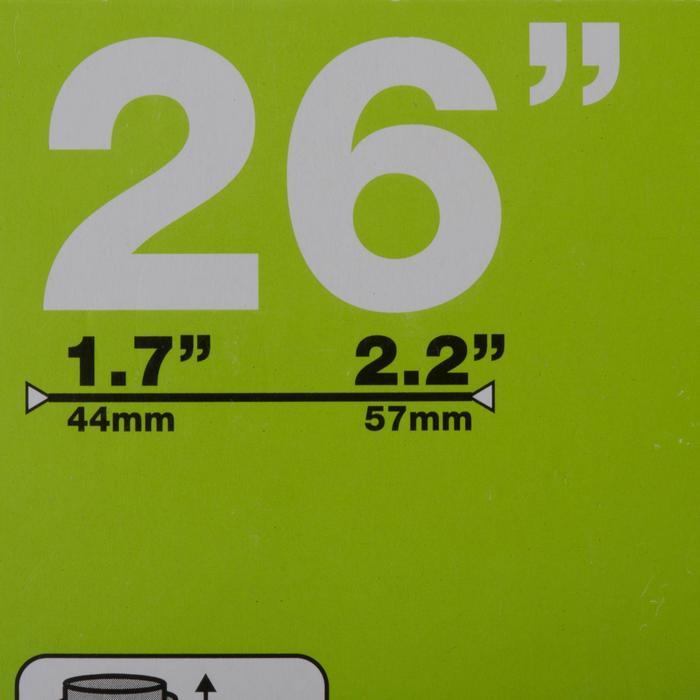 Fahrradschlauch 26 x 1,7/2,2 35-mm-Schrader-Ventil