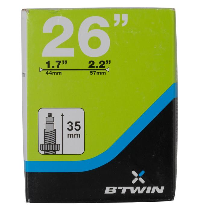 Fahrradschlauch 700 x 1,7/2,2 Presta-Ventil 35 mm