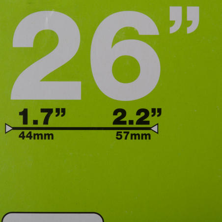 CHAMBRE A AIR 26x1,7/ 2,2 VALVE PRESTA 35MM