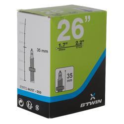 Binnenband 26x1,7/2,2 prestaventiel 35 mm