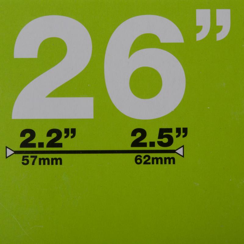 CÁMARA BTT de 26x2.2 a 2.5 VÁLVULA SCHRADER