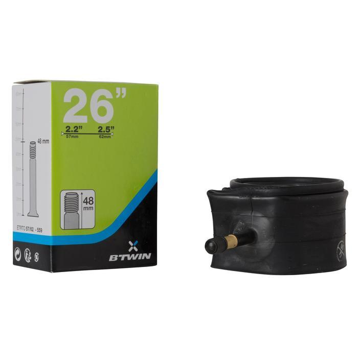 Binnenband MTB 26x2.2 tot 2.5 Schrader-ventiel