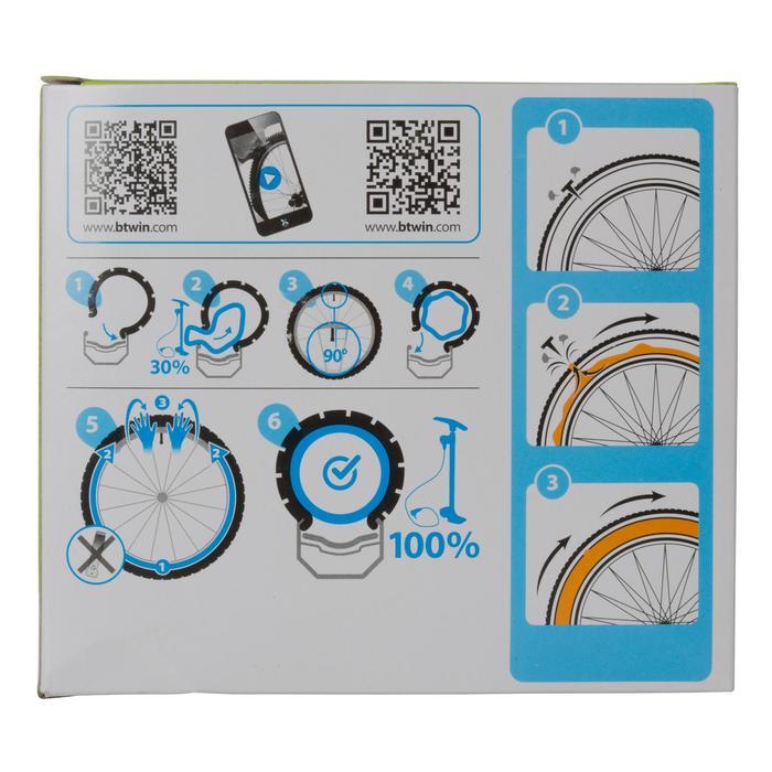 Fahrradschlauch 27,5 x 1,70/2,20 selbstreparierend 60-mm-Presta-Ventil