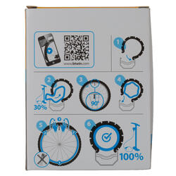 Binnenband 700X35/45 Presta-ventiel 35 mm - 992733