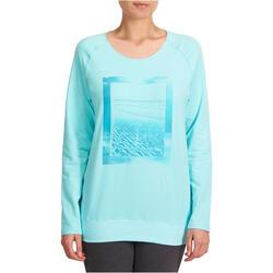 Yoga T-shirt in biokatoen voor dames - 992754