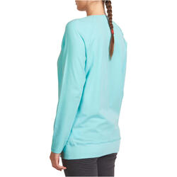 Yoga T-shirt in biokatoen voor dames - 992785