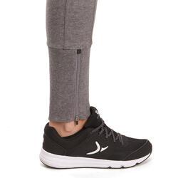 Molton damesbroek met ritsen onderaan, voor gym en pilates - 992813