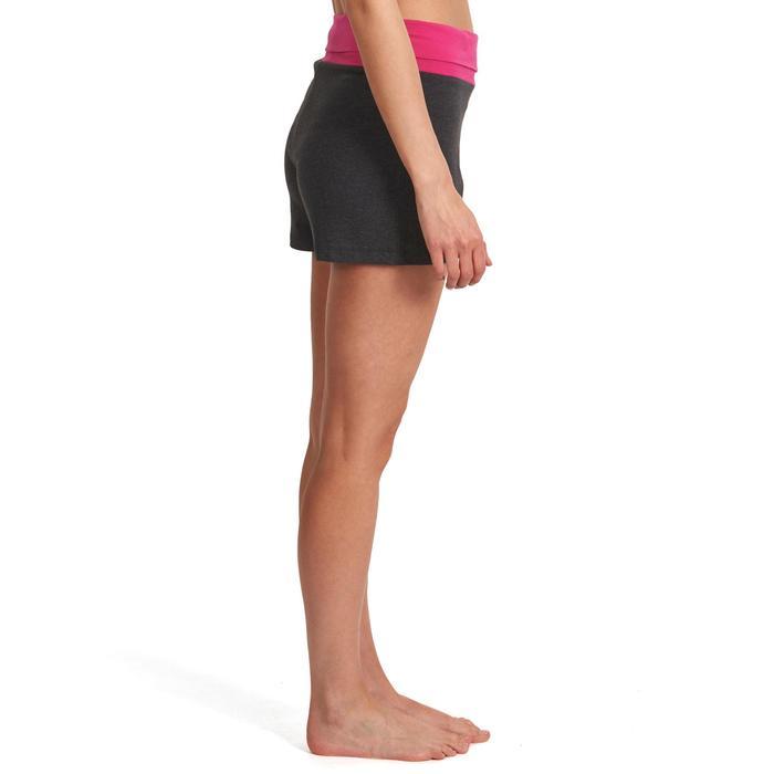 Short yoga doux femme coton issu de l'agriculture biologique - 992827