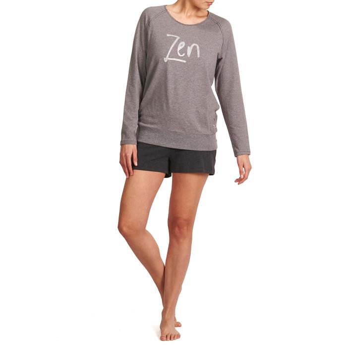 Short yoga doux femme coton issu de l'agriculture biologique - 992850