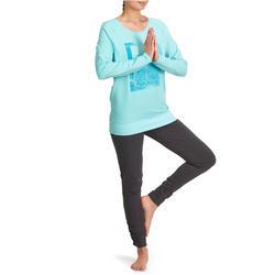 Yoga T-shirt in biokatoen voor dames - 992862