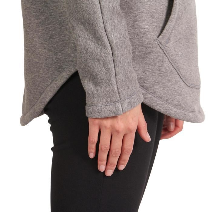 Sweat polaire yoga COCOON femme - 992868