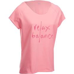 Yogashirt biokatoen dames