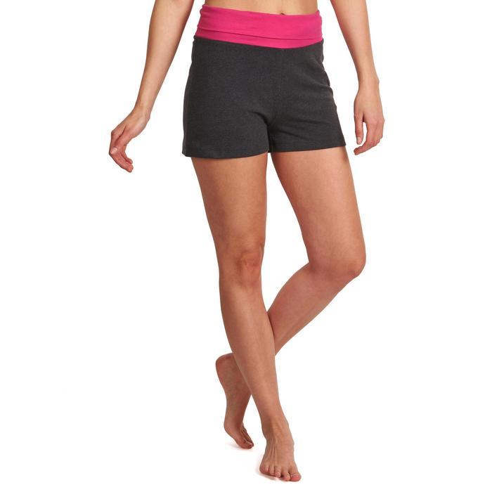 Short yoga doux femme coton issu de l'agriculture biologique - 992912