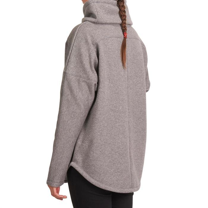 Sweat polaire yoga COCOON femme - 992939