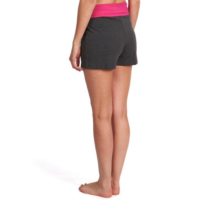 Short yoga doux femme coton issu de l'agriculture biologique - 992974