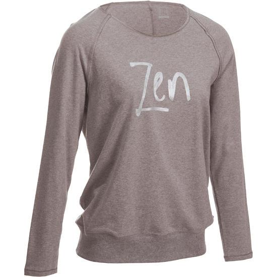 Yoga T-shirt in biokatoen voor dames - 992977