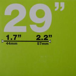 Binnenband 29x1.7/2.2 Schrader-ventiel - 993043
