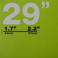 CÁMARA DE AIRE 29X1,7/2,2 VÁLVULA SCHRADER DE 48MM