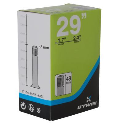 29x1.7/2.2 Schrader Valve Inner Tube